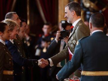 Felipe VI, en la Pascua Militar