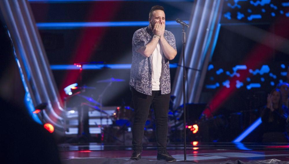 VÍDEO: Juanfra Anguita canta 'City of stars' en las 'Audiciones a ciegas' de 'La Voz'