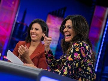 Nuria Roca repasa en 'El Hormiguero 3.0' los titulares falsos sobre Pablo Motos