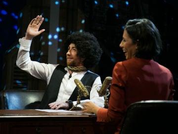 La entrevista más divertida de Pablo Motos en la piel de Jesús Quintero a Ana Pastor en 'El Hormiguero 3.0'