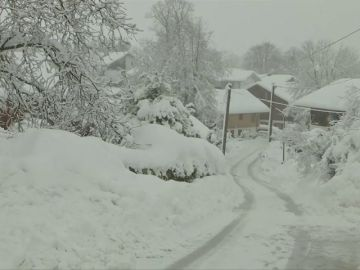 El temporal de nieve en Alemania obliga a cancelar cientos de vueltos