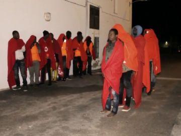 80 inmigrantes rescatados en el Mar de Alborán