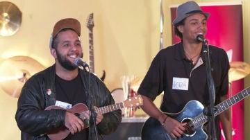 Roy Borland y Domingo Ondiz inundan de 'buen rollo' su casting para 'La Voz'