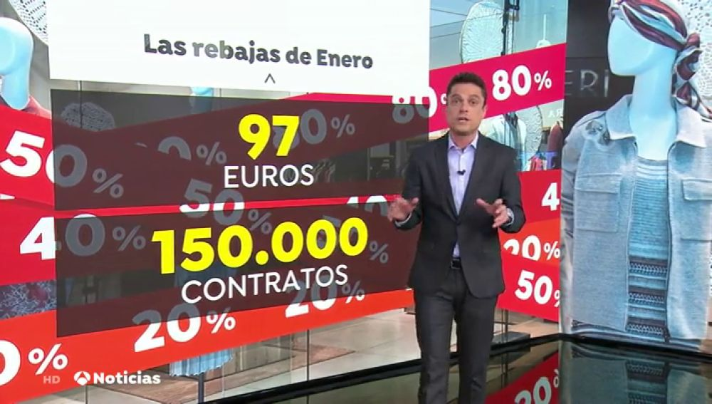 REEMPLAZO   Rebajas en todos los comercios de España con una previsión positiva en ventas