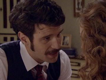"""Carlos se declara a Natalia: """"Sueño que te beso todas las noches"""""""