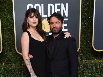 Alaina Meyer y Johnny Galecki