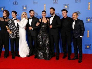 El reparto de 'American Crimen Story: El asesinato de Versace' en los Globos de Oro