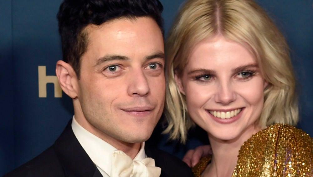 Rami Malek y Lucy Boynton son pareja en la vida real