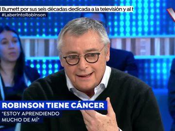 """Robinson lucha contra el cáncer: """" Nunca me he encontrado tan bien"""""""