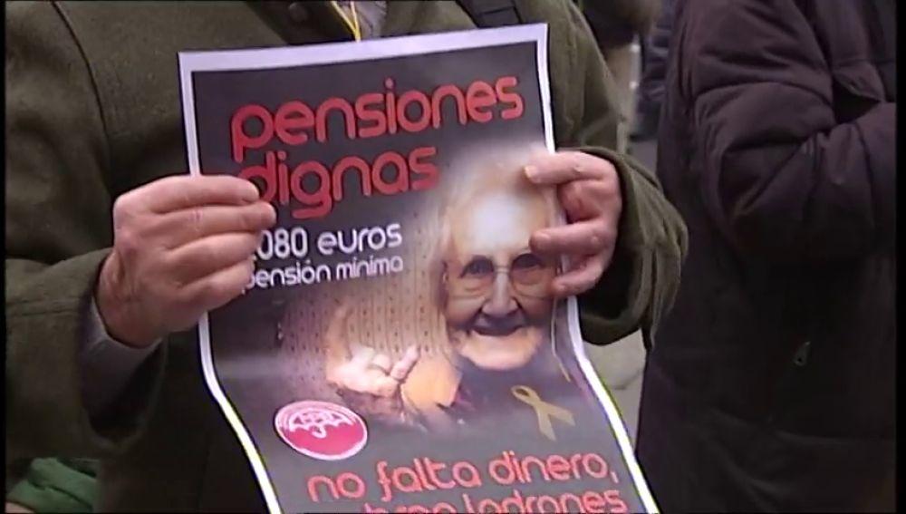 Los pensionistas vascos piden blindar las pensiones según incremento del IPC