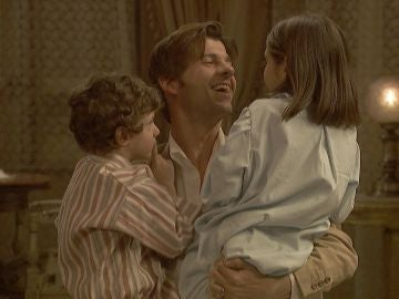 El encuentro más esperado de Gonzalo con sus hijos