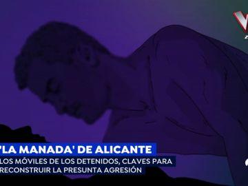 La joven agredida sexualmente en Callosa yacía en suelo mientras un hombre abusaba de ella