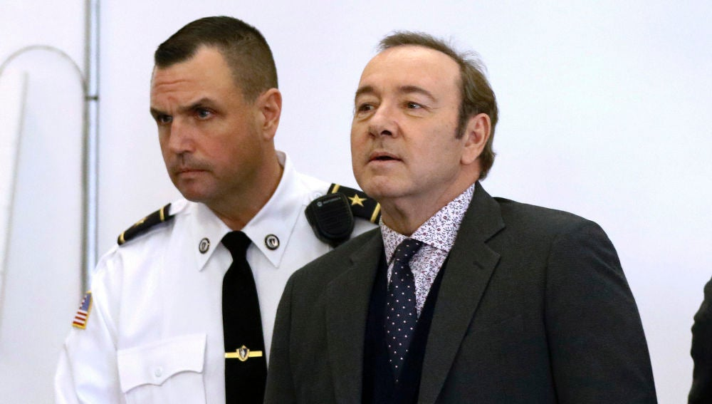 Kevin Spacey en el juicio acusado de abuso sexual en Nantucket (Massachusetts)