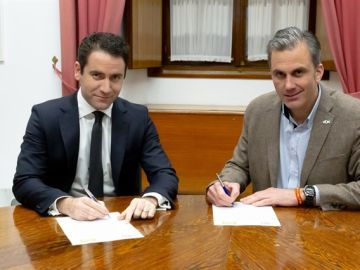 Teodoro García Egea y Javier Ortega Smith