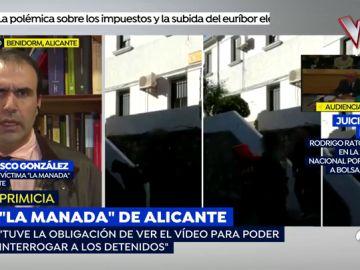 """El abogado de la víctima de 'La Manada' de Alicante: """"En el vídeo se le escucha decir: """"No, no, no, parad"""""""