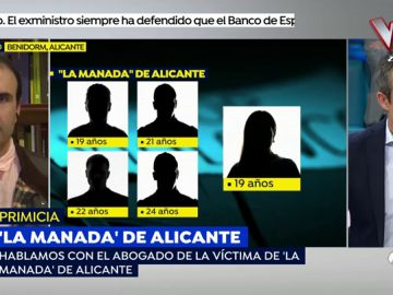 La víctima de 'La Manada' de Alicante no recuerda lo ocurrido y los psicólogos recomiendan que no vea el vídeo