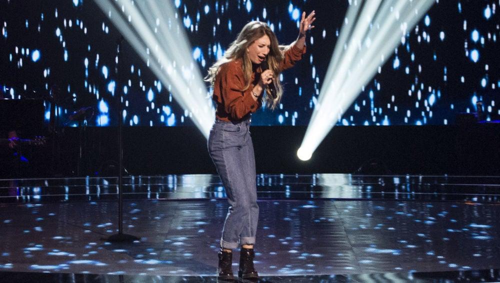 VÍDEO: Palomy canta 'Ángel caído' en las 'Audiciones a ciegas' de 'La Voz'