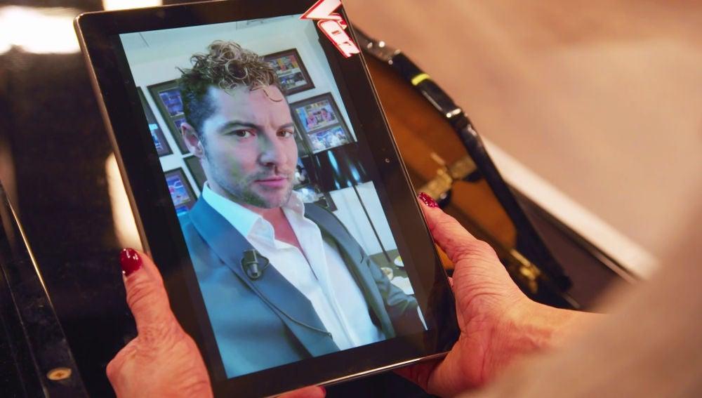 David Bisbal le manda un mensaje a David Erro, su talent en 'La Voz Kids'