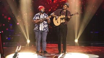 VÍDEO: Domingo Ondiz y Roy Borland cantan 'Summertime' en las 'Audiciones a ciegas' de 'La Voz'