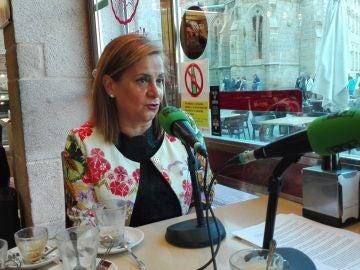 Carmela Silva - presidenta de la Diputación