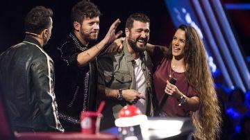 """Antonio Orozco, sobre Lorena Fernández: """"Señoras y señores, acaba de nacer una estrella"""""""