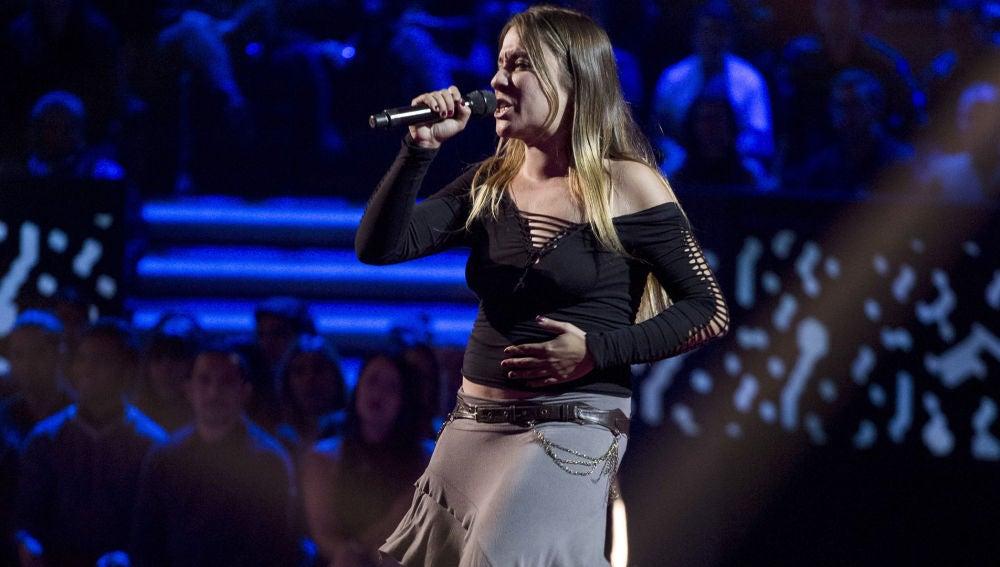 Vídeo actuación Viki Lafuente Audiciones a ciegas