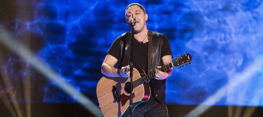 VÍDEO - LA VOZ: Andrés Balado canta 'Purple rain' en las 'Audiciones a ciegas'