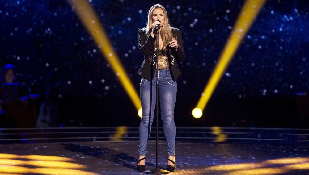 Vídeo actuación Noelia Cano audiciones a ciegas