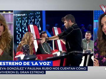 """Paulina Rubio: """"Lo bonito de 'La Voz' es que no conocemos la historia de la gente y solo nos guiamos por la música"""""""