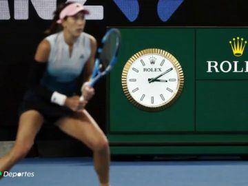 Tenis 'after hours' en el Open de Australia: el partido de Muguruza terminó a las 03:12