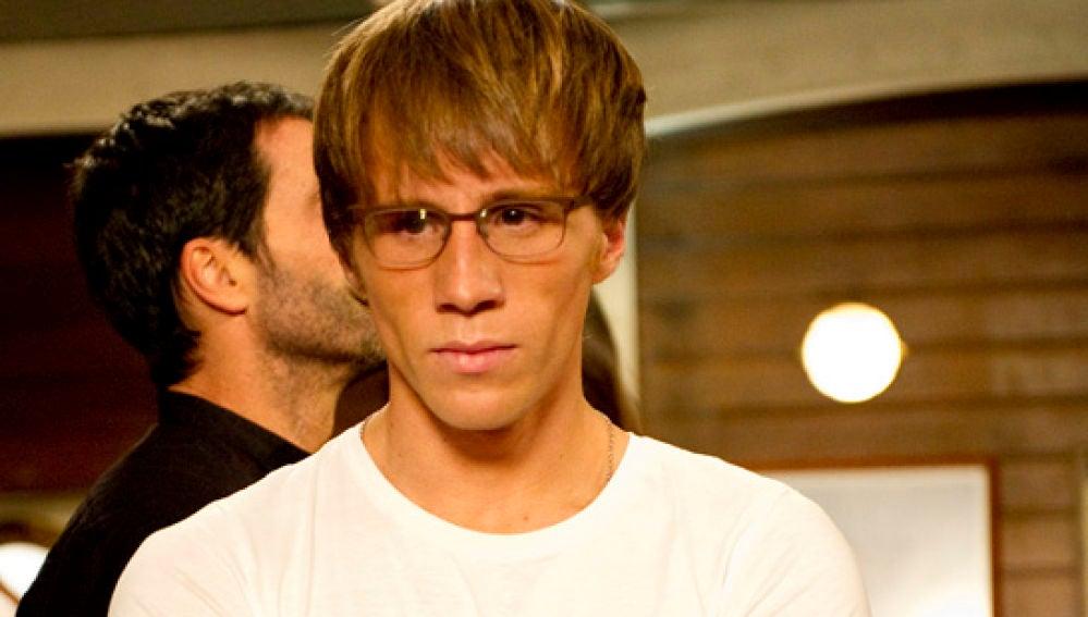 Andrés Palomares en 'El Barco', interpretado por Bernabé Fernández