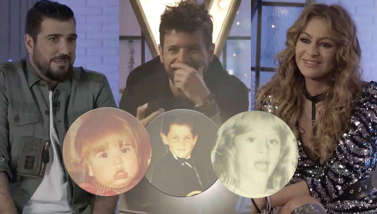Paulina Rubio, Pablo López y Antonio Orozco relatan sus inicios en la música