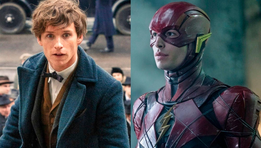 'Animales Fantásticos' y 'The Flash'