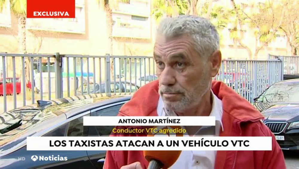 Conductor de VCT agredido en Barcelona