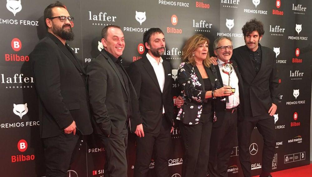 'Fariña' hace triplete en los Premios Feroz 2019