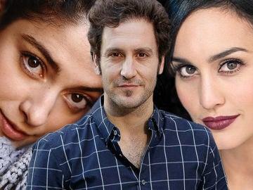 Aida de la Cruz, Álex Gadea y Megan Montaner