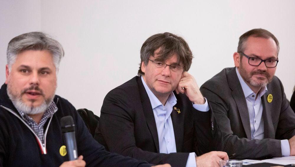 Reunión de JxCat en Bruselas