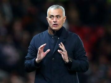 El entrenador portugués José Mourinho