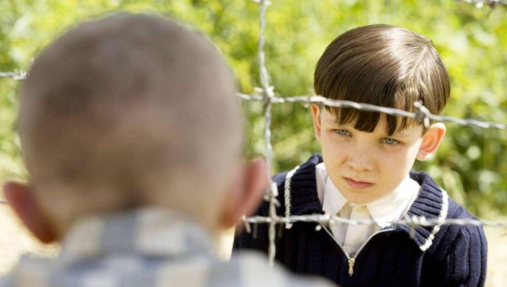 Asa Butterfield en 'El niño con el pijama de rayas'