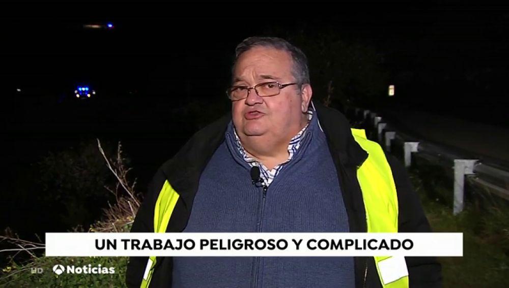 """Juan López, Delegado del Colegio de Mineros: """"Están previstas todas las soluciones por si surge cualquier tipo de incidencia"""""""