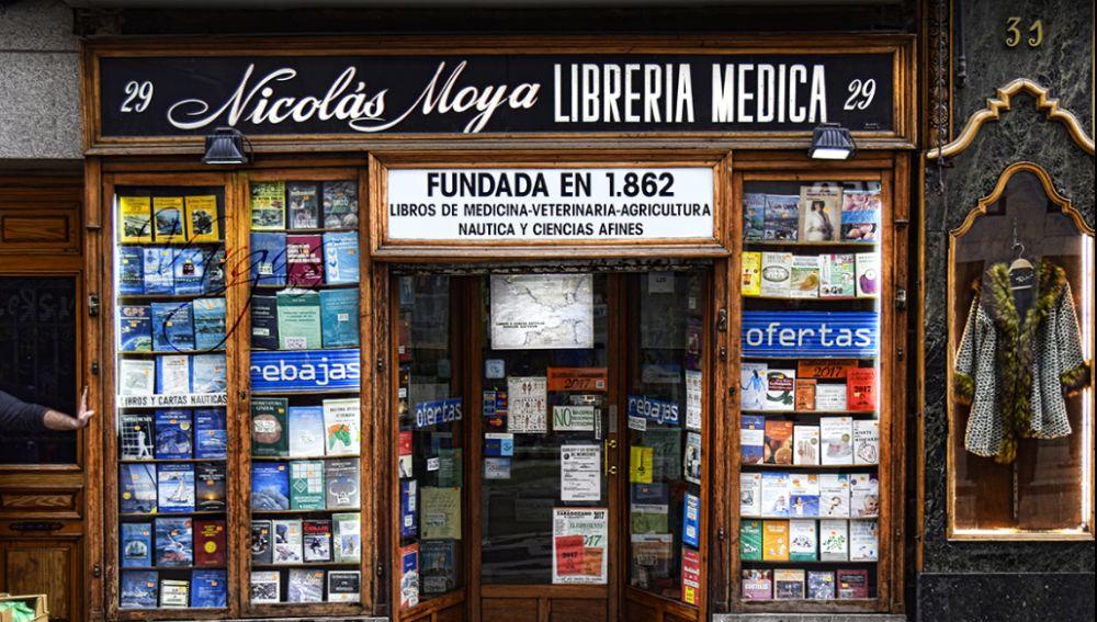 librería más antigua de Madrid