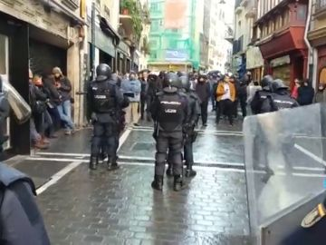 Vuelven a clausurar el Palacio del Marqués de Rozalejo de Pamplona tras ser ocupado