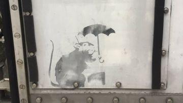 El dibujo que podría ser de Banksy