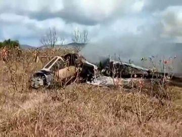 Un avión de las FAR se estrella en Marruecos durante un entrenamiento