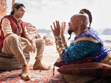 Fotograma del remake en versión real de Aladdin