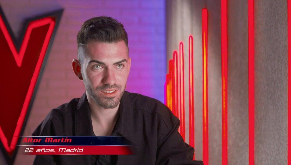 """VÍDEO: Aitor Martín: """"Es la primera vez que estoy en un escenario"""""""