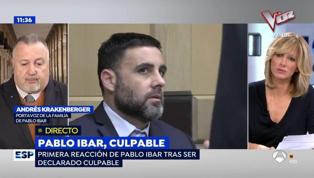 Andrés Krakenberger, portavoz de la familia de Pablo Ibar