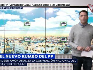 """Rubén Amón analiza la convención del PP: """"A Casado el título definitivo se lo ha otorgado Aznar"""""""