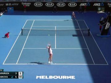 Muguruza cae en octavos del Open de Australia ante Pliskova