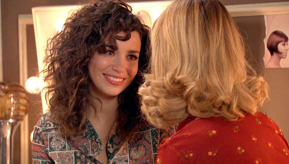 """Amelia calma la inseguridad de Luisita: """"Ojalá pudieras verte como yo te veo"""""""